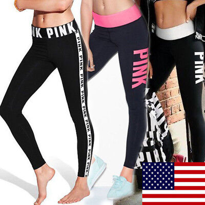 Womens Gym Yoga Running Ladies Sports Fitness Leggings Pants Jumpsuit Athletic