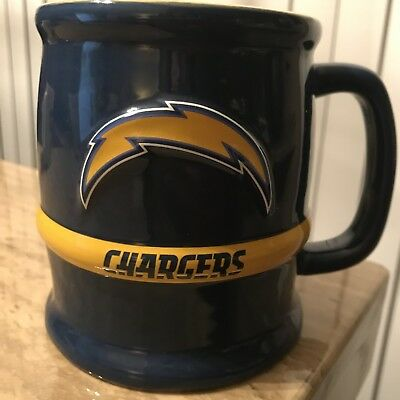 San Diego Chargers Officially Licensed NFL Football Coffee Mug Tea Cup RARE!!