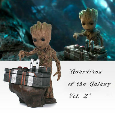 "Guardians of The Galaxy Vol. 2 Baby Groot 7"" Figure Movie Collectable w/ Bomb"