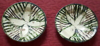 Bowl Pair-Ancient? Islamic? Nishapur? Seljuk? Middle East? Glazed