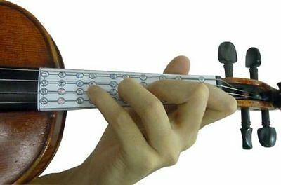 Learn The Violin, Fingerboard Sticker/intonation Note Chart, For 4/4, From Uk