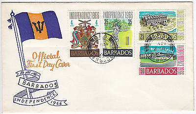 Y6072 Barbados first day cover - Independence 1966