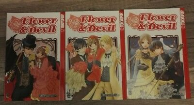Flower and Devil Manga Band 1-3 von Hisamu Oto