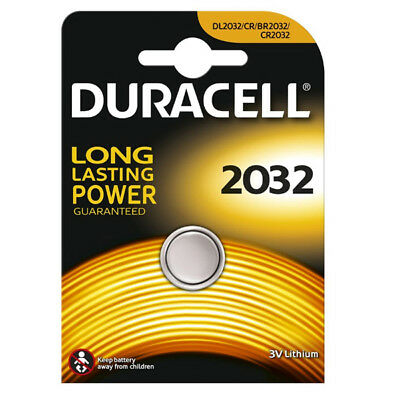 "New Duracell Single Carded 3V Lithium Coin Cell Long Lasting Battery ""dl2032"""