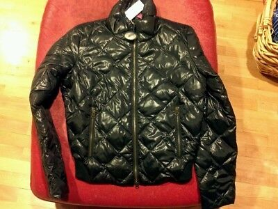 Nwt JOE FRESH Womens down BOMBER JACKET black  M