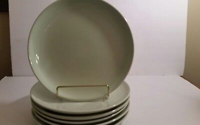 Set of 6 Lettuce Green Russel Wright Iroquois Casual China Dinners
