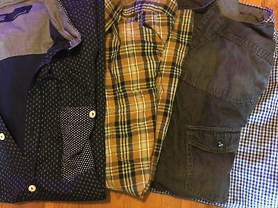 31 Mens Shirts Next, M&S, H&M and more. Great condition ref s1