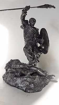 1/18 figure, Tin Soldiers, Battle of the barbarians with the Romans, 90 mm