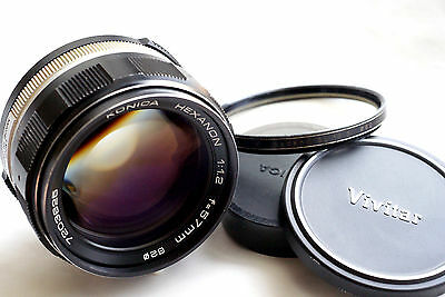 KONICA HEXANON AR 57mm f1.2 for MIRRORLESS CAMERAS  JAPAN EXCELLENT-
