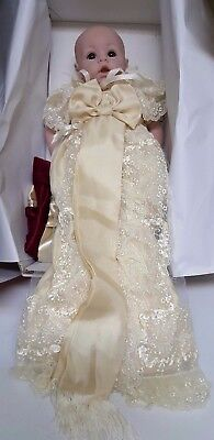 Commemorative Royal Prince George baby 16 In. with Blanket ADORA  2013 reduced