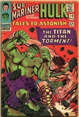 Tales To Astonish #79 - G/VG