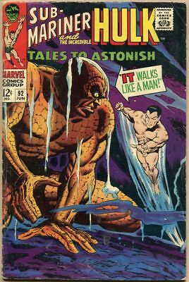 Tales To Astonish #92 - G/VG