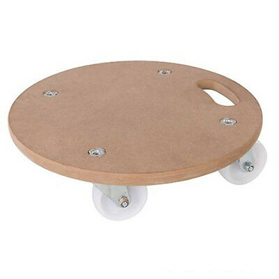 ROUND Dolly Trolley Platform Wheels 250KG Easy Movement Heavy Items