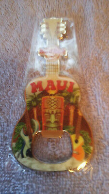 Hard Rock Cafe Maui Bottle Opener/Magnet New Original Wrapping with Tag