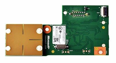 New XBox 360 E 360 Slim 4GB 250GB RF Receiver Power Button Ring Assembly Board
