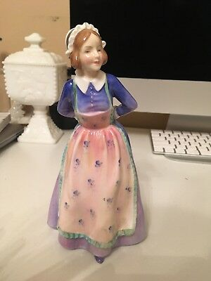Vtg Royal Doulton Figurine Susan 7-1/2 Inches Tall#hn2056 Copr 1949