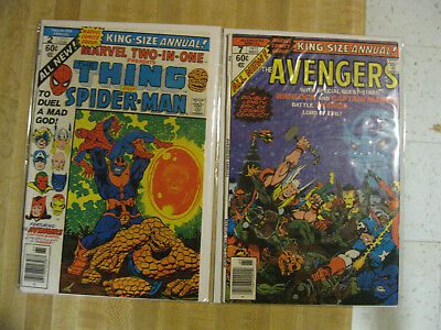 Guardians of the Galaxy collection - Marvel Two-in-One Annual 2, Avengers Ann #7