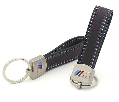 BMW Msport Car Key Chain Keychain Ring Keyfob Metal Keyrings M Sport Accessory
