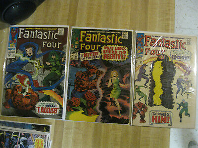 Guardians of the Galaxy collection - Fantastic Four #65 5.0, 66 3.0 , 67 6.0