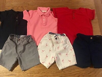 Boys Summer Bundle Zara Next 2-3