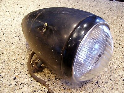 Large Antique Vintage 1930's 1937 Chevrolet Rat Rod TILTRAY Car Head Light Lamp