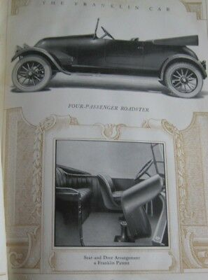 1918_FRANKLIN CAR MODELS_Construction_Performance_ENGINE_Mechanical DETAILS 79pg