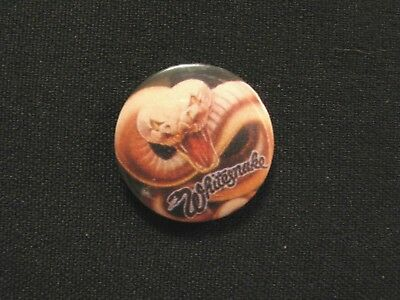Whitesnake Vintage Badge Button Pin Not Poster Patch Shirt Cd Lp Uk Made