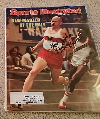 Dick Buerkle Hand Signed Sports Illustrated
