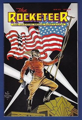 The Rocketeer Movie Adaptation (Comic Variant) 1991 Dave Stevens cover