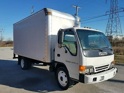 2002 Isuzu NPR HD 16' Box Truck