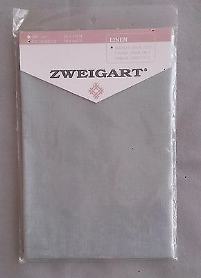 Belfast linen by Zweigart 32 ct 50 x 69cm piece avail cream or green