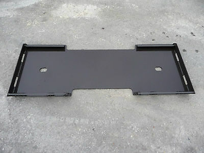 Bobcat Kubota Quick Tach Attachment Skid Steer Mount Weld Plate - Free Ship!!