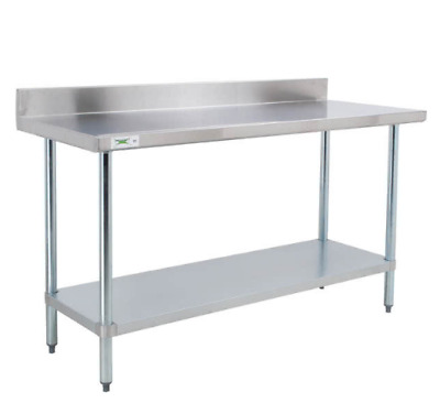 "Regency 24"" x 72"" Stainless Steel Work Prep Table With Backsplash Commercial NEW"