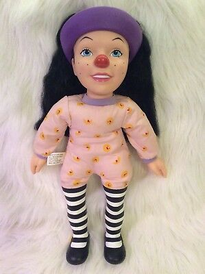 "The Big Comfy Couch Loonette Talking Doll~18"" Vinyl and Cloth~Vintage 1996"