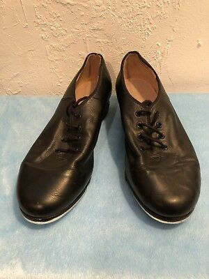 Women's Tap Shoes by BLOCH Size 9 Black leather lace up