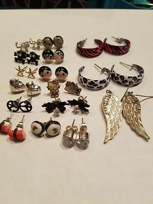 Claire's Justice Kids Girls Earring Lot Jewelry
