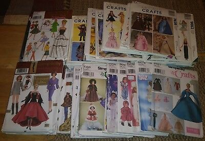 McCall's Crafts Simplicity Doll Collector Club Gotz Diva Easy Sewing Pattern NEW