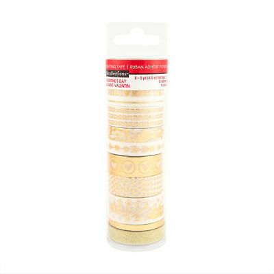 Gold Foil  Washi Tape Tube By Recollections™ 536123 NEW