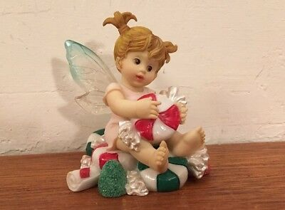 My Little Kitchen Fairies Enesco SWEET BON BON Fairie Figurine 2003 SANTIAGO