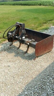 """2G1-48 Gearmore Box Scraper 48"""" with fixed tailboard and hydraulic operated scar"""