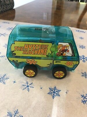 "Vintage  Scooby Doo ""The Mystery Machine""  Coin Bank w/ candy still inside"