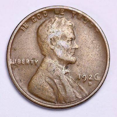 1926-D Lincoln Wheat Cent Penny LOWEST PRICES ON THE BAY!  FREE SHIPPING!