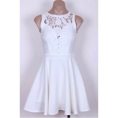 White lace dress size 8 - brand new with tags