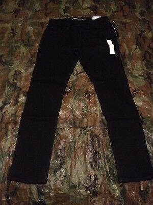 Old Navy Slim Jeans Men's Stretch Black 31x32 New With Tags