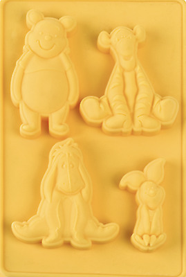 Disney Winnie Pooh Bear Silicone Mould Cake Tool Clay Silicon Baking Fondant