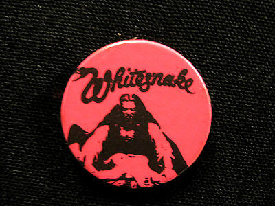 Vintage Whitesnake Badge Pin Button Uk Inot Patch Cd Shirt Poster Mport