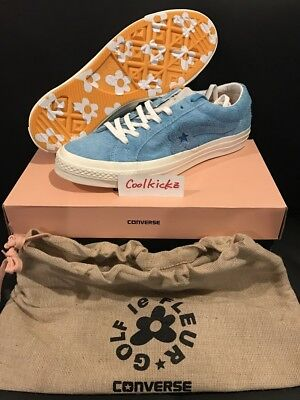 Tyler The Creator x Converse One Star Golf Le Fleur Wang 4-12 Baby Blue 160326C