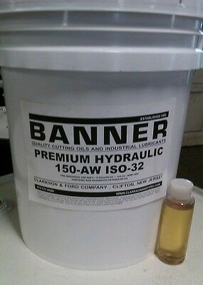 Hydraulic Oil Aw Iso-32 Sae-10 5 Gal Pail