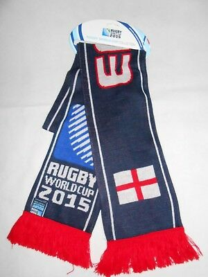 New Rugby World Cup 2015 - England Scarf - Collectors item