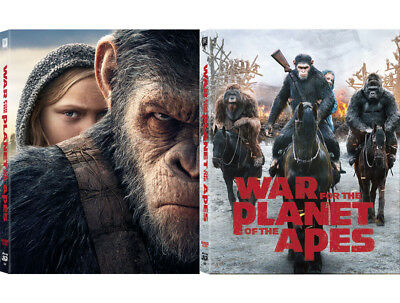 War For The Planet Of The Apes /Blu-ray Full Slip Lenticular Steelbook kimchiDVD